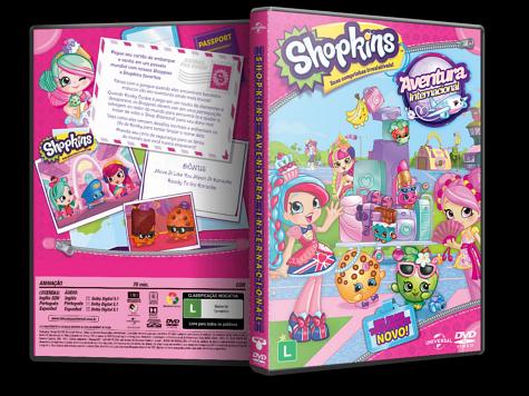 Capa DVD Shopkins: Aventura Internacional