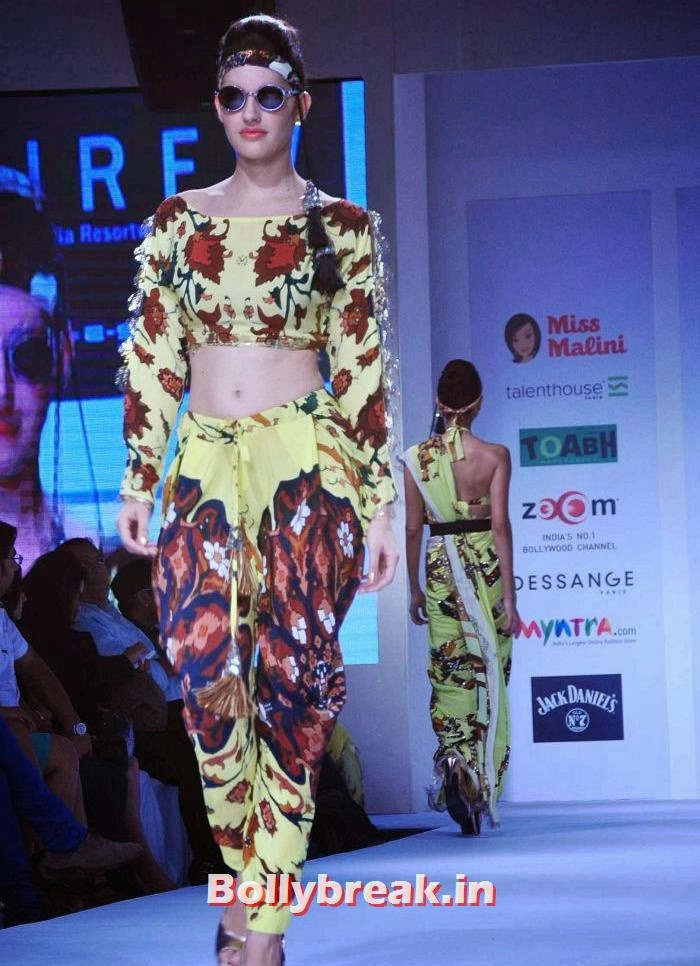 , Pria Kataria Puri Show at India Resortwear Fashion Week 2013