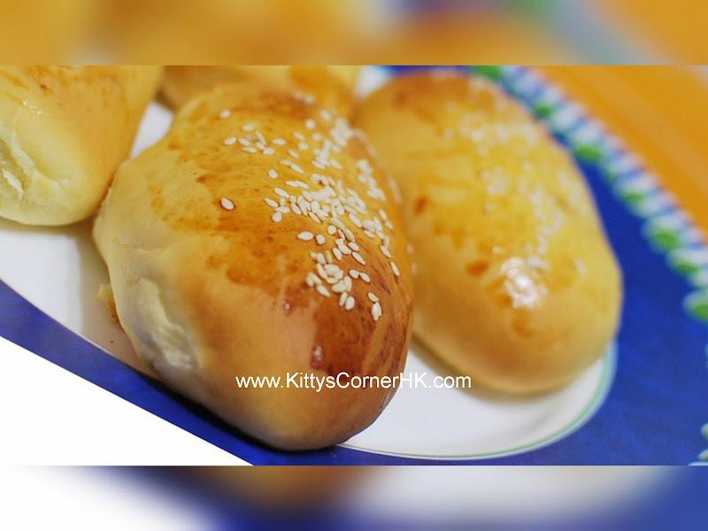 Sesame Bread DIY recipe 芝麻包 自家烘焙食譜