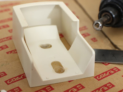 プラリペアでリモコンホルダーの補修修理