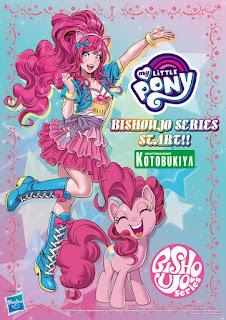 Kotobukiya Announces Equestria Girls Bishoujo Series