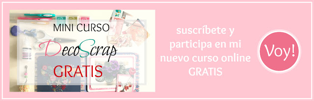 Newsletter - Curso DecoScrap
