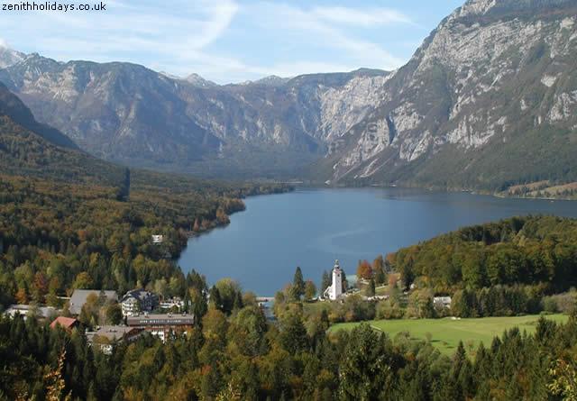 Lago Bohinj - Alpes Julianos, Eslovênia