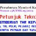 Juknis Pemberian THR Kepada PNS, TNI, POLRI, Pejabat Negara, Penerima Pensiun dan Tunjangan
