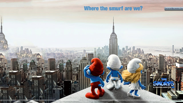 The Smurfs Where the smurf are we?