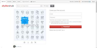 Tutorial Download Gambar di Shutterstock Tanpa Watermark 2
