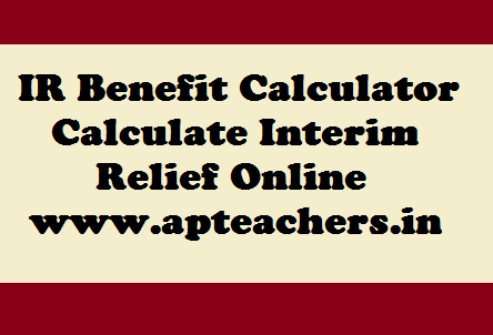 20% IR GO Online IR Calculator AP GO 21 IR to Employees | APTEACHERS