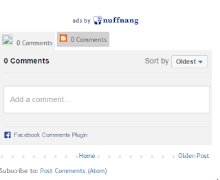 Cara Pasang Kotak Komen Facebook Di Blog