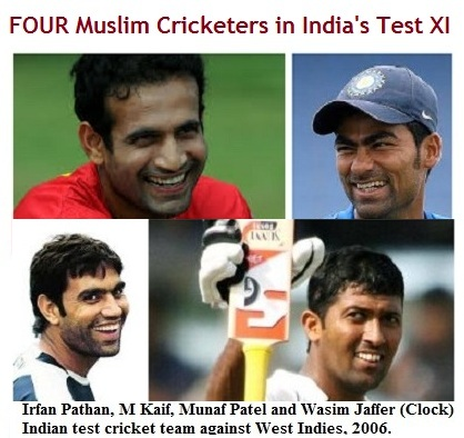 Indscribe's Blog: News and Views about Indian Muslims: Four Muslims