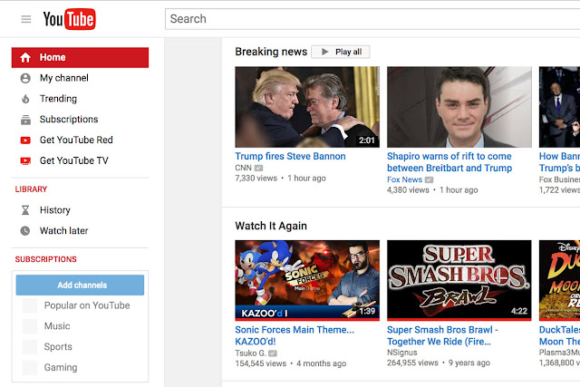 youtube-breaking-news-section