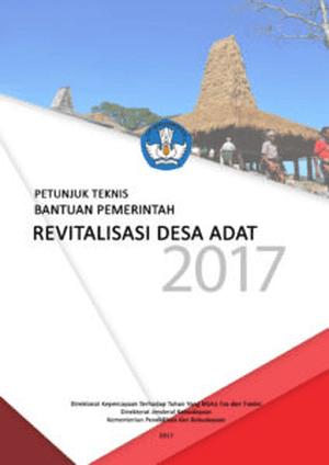Petunjuk Teknis Revitalisasi Desa Adat 2017