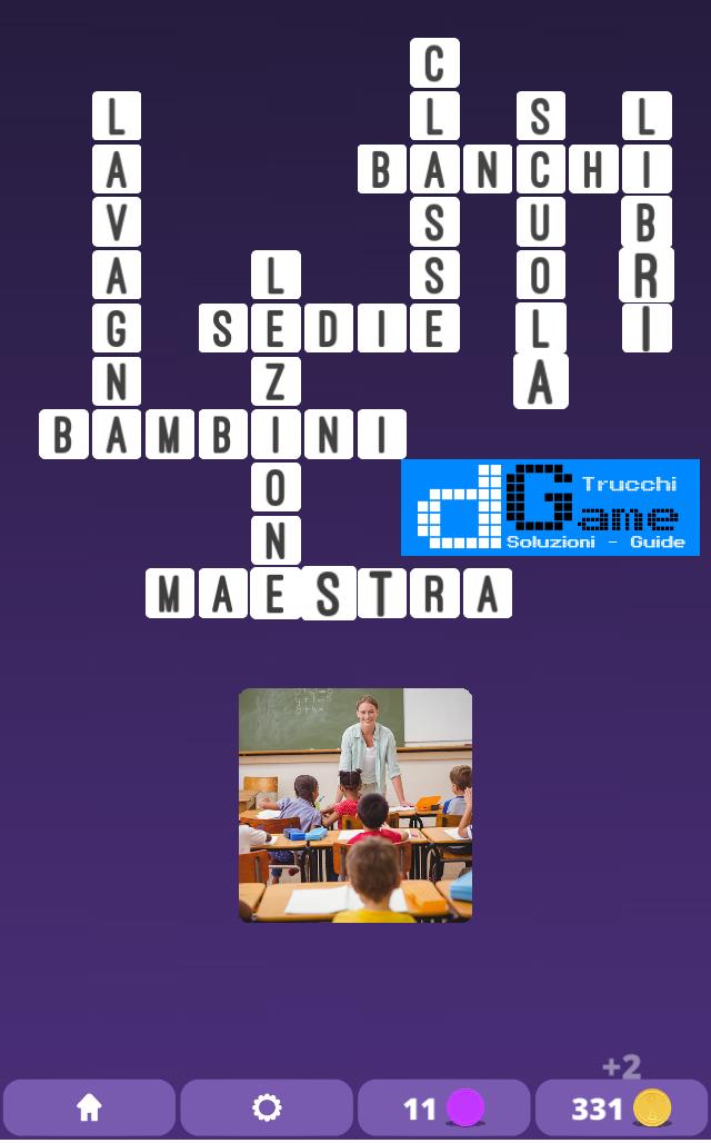Soluzioni One Clue Crossword livello 5 schemi 4(Cruciverba illustrato)  | Parole e foto