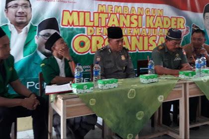 Ketua Ansor Lasem Nyatakan Ansor Organisasi Yang Tak Pernah Tidur