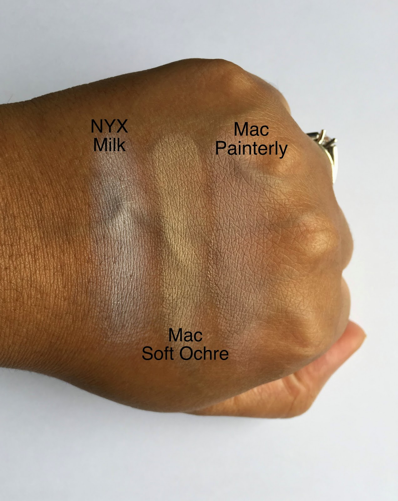 mac paint pot for darker skin