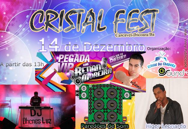 Imagens do Cristal Fest em Cascavel