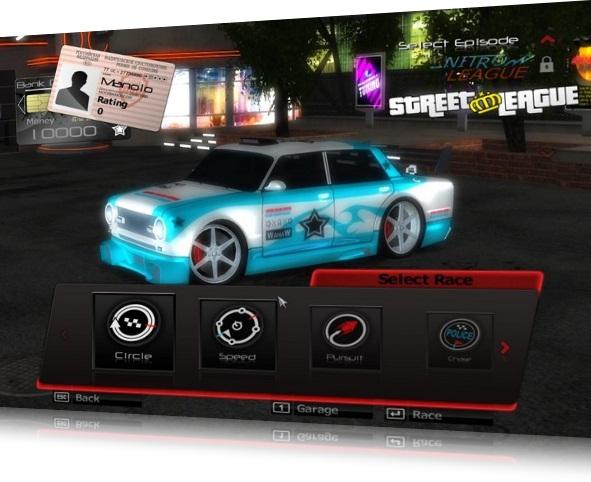 Racers vs Police game PC