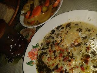 Buğdaylı yoğurt çorbası, ıspanaklı yoğurt çorbası