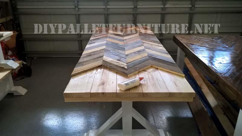 Mueblesdepaletsnet Mesa y bancos para exteriores de palets