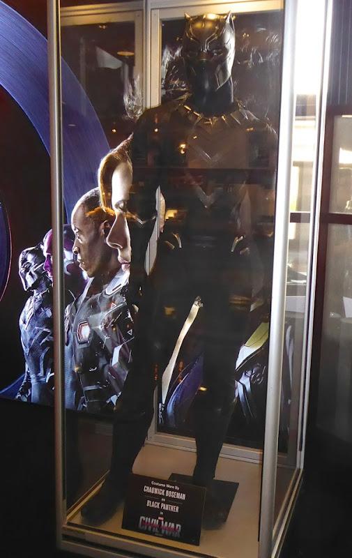 Black Panther costume Captain America Civil War