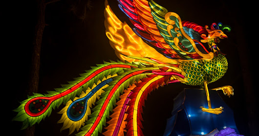 "A word-ful ""wordless"" Wednesday on Tuesday: Images from the Chinese Lantern Festival"