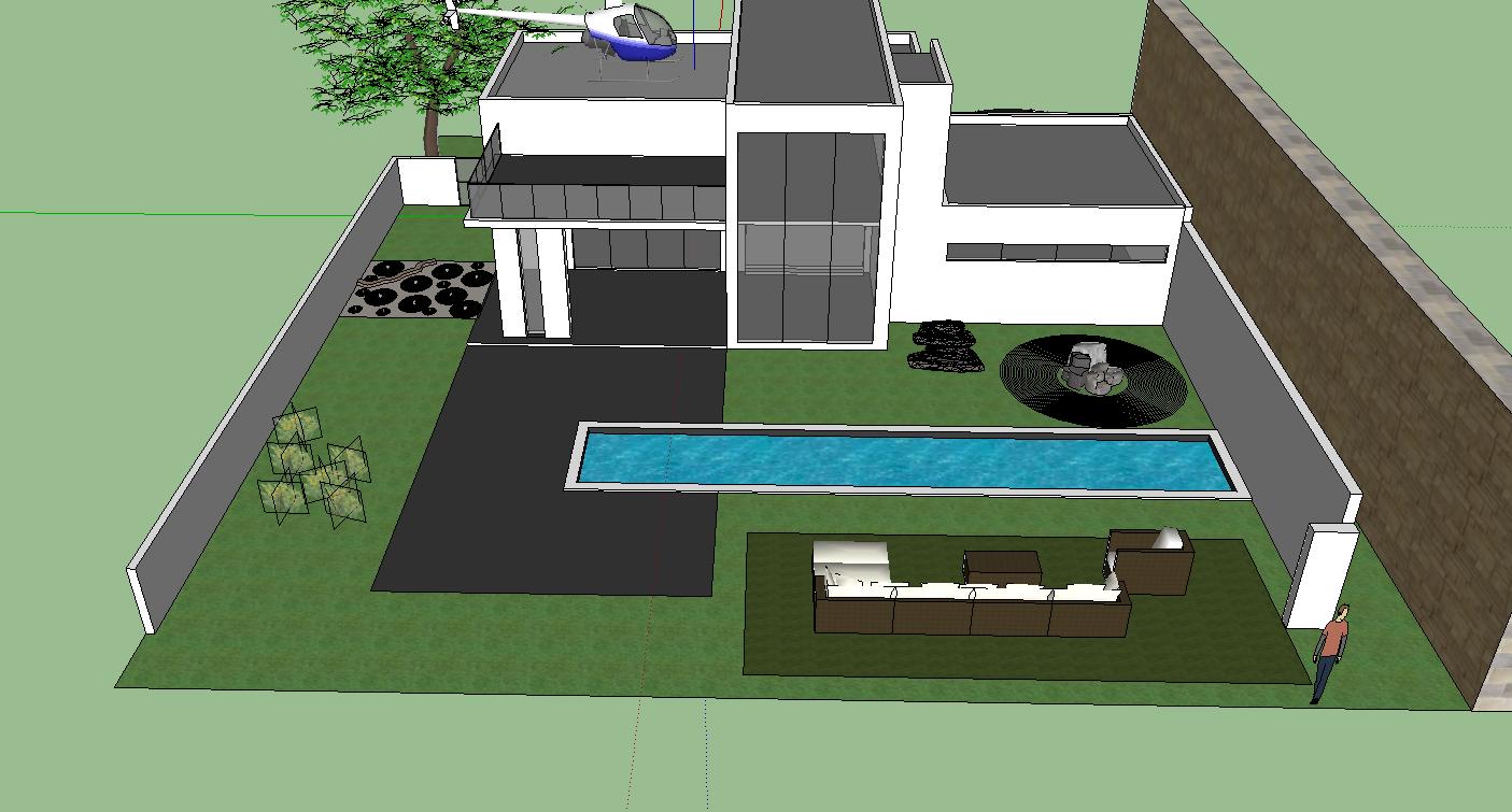It 200 steven yang google sketchup project 3 house for Google house design