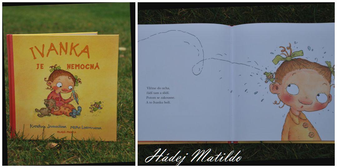 Ivanka je nemocná, dětské knihy, knihy pro nejmenší