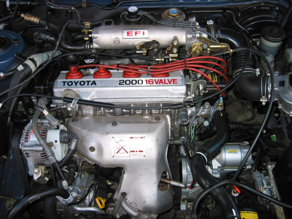 1991 Toyota Camry Engine Layout Motor Diagram