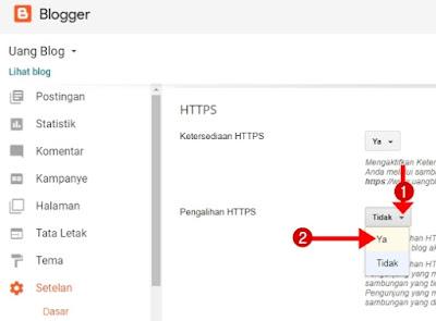 Cara Mengaktifkan Pengalihan HTTPS