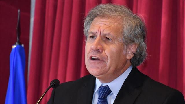 Almagro rechaza que el diálogo resolverá el problema en Venezuela