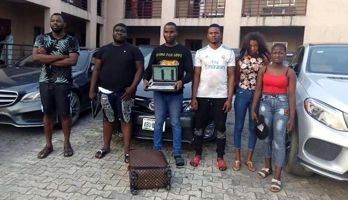 4 boys, 2 girls arrested for cyber crime in Port Harcourt