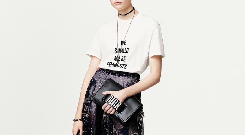 T-shirt feminista da Dior
