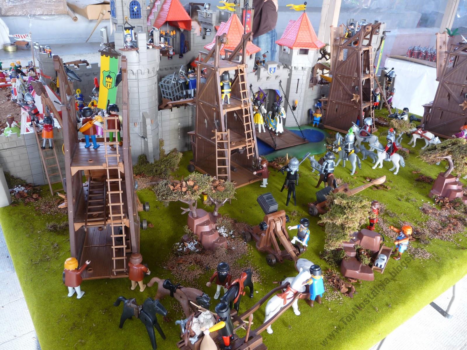 ToyNostalgia: Playmobil, diorama medieval