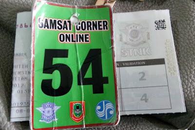Bayar Pajak Motor di Samsat Corner Q-Mall Banjarbaru