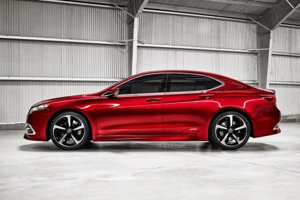 2015 Acura TLX Prototype Car Pictures