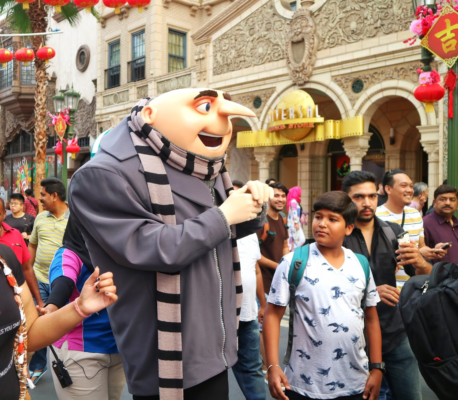 Universal Studios Singapore - Gru from Minions and Despicable Me