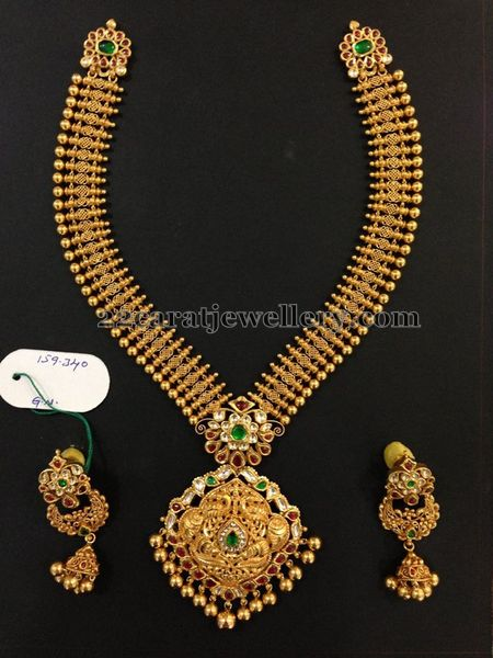 Trendy Antique Long Set 159 Grams