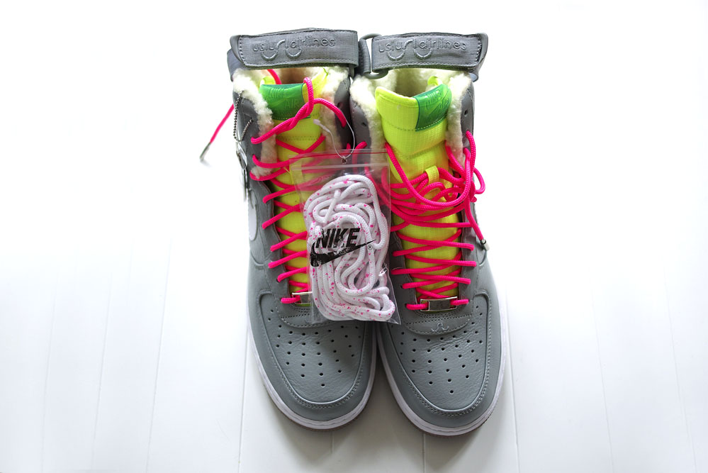 feride uslu ( who s job title is pilot ) designed these bad boys for the nike  1 world project 872d4859f9