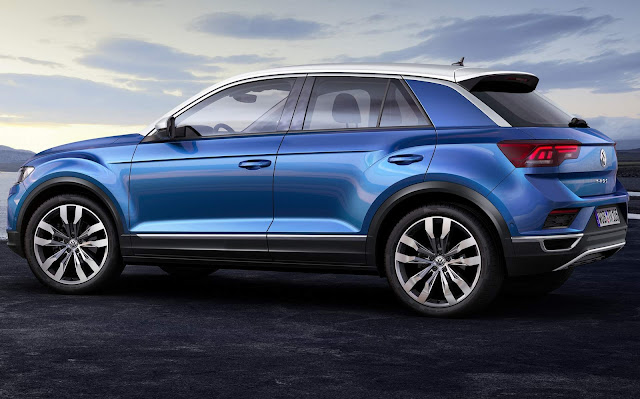VW T-ROC - Golf SUV