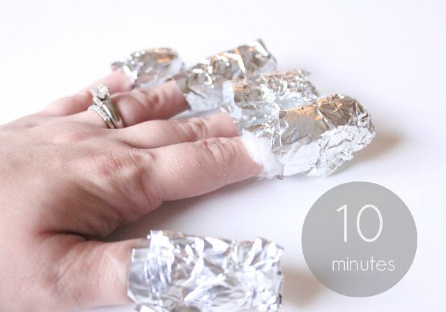 tin-foil-nail-polish-remover