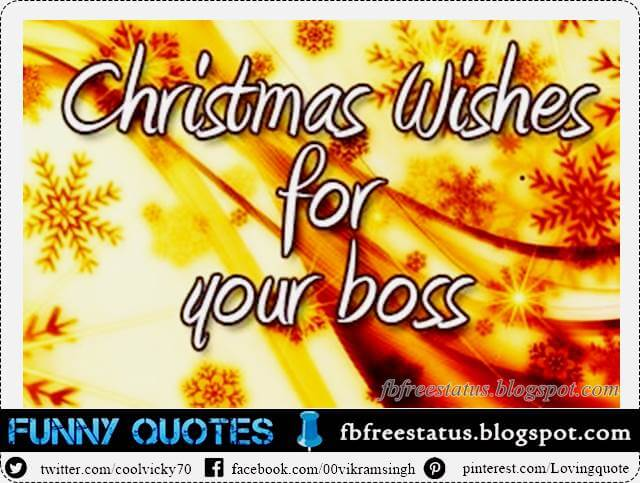Christmas Wishes For boss, Christmas Messages For boss