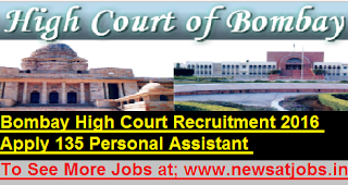 Bombay-High-Court-135-Personal-Assistant -Recruitment