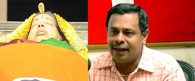 ஜெயலலிதாவை கொன்றது சசிகலா தான் : சுப்ரீம்கோர்ட் வழக்கறிஞரின் போர்க்குரல்