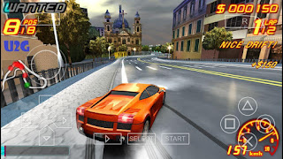Asphalt: Urban GT 2 PPSSPP Highly Compressed
