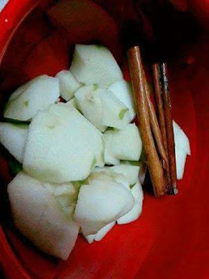 Petua Kempiskan Perut Dengan Apple Hijau