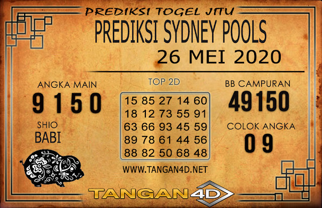 PREDIKSI TOGEL SYDNEY TANGAN4D 26 MEI 2020