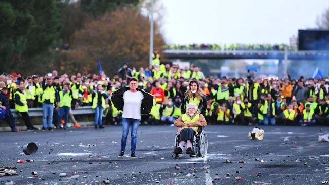 مظاهرات-السترات-الصفراء