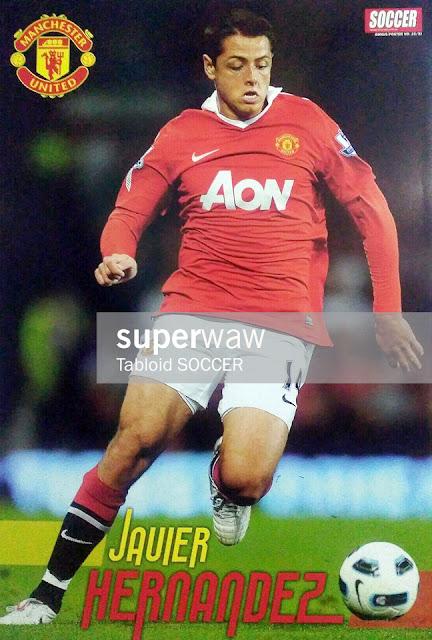 Javier Hernandez Manchester United 2010