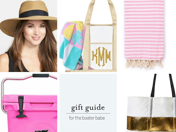 Gift Guide: For the Boater Babe