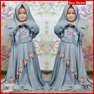 FHGS9032 Model Syari Anak Dora, Muslim Abu Pakaian Anak BMG