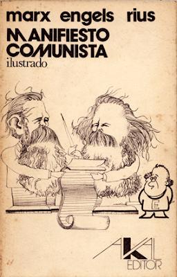 manifiesto comunista de Marx Engels Rius en comic